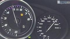 フィアット 124 スパイダーの最高速度を計測してみた動画