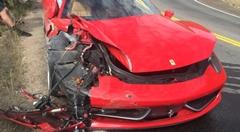 やっちまった!フェラーリ 458 のレンタカーで事故ってしまった26歳WRXオーナー