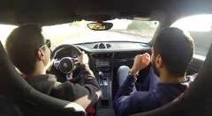 ポルシェ 991 GT3 が公道でドリフトしちゃう動画