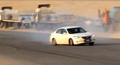 アラブのドリフター シートベルトの大切さを知る