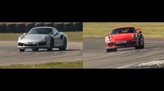 ポルシェ 991 GT3 RS vs ターボS サーキット比較動画