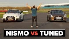 日産 GT-R NISMO 2017 600馬力 vs 初期型チューンドGT-R 660馬力 加速対決動画