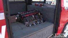 V8 LS1エンジンを積んじゃった無駄に凄すぎるスバル サンバーバン