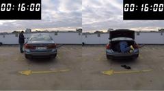 BMWのリモートパーキング vs トランクから侵入 どっちが早いか比べてみた