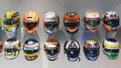 ヘルメットはドライバーの顔 2017年 F1ドライバー ヘルメット集