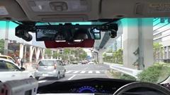 自動運転車開発プラットホーム RoboCar Minivan のお台場公道走行動画 2017年4月版