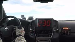 2000馬力のランクルが370km/h出しちゃう世界記録動画
