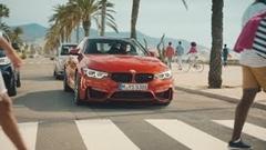 BMW M4 は車高が低いから眺めがいいぜ