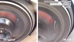 ムービット ブレーキディスク 0-200-0km/h 連続11回テスト動画