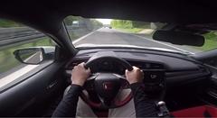 新型ホンダ シビック タイプR 最高速度アウトバーン実測動画