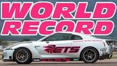 はえー!3000馬力の日産 GT-Rがハーフマイルで411km/h 出しちゃう世界記録動画