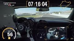 シボレー カマロ ZL1 1LE ニュル7分16秒04 フルオンボード動画