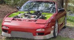 日産 240SX にディーゼルエンジンを積んじゃいました