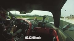 シボレー コルベット Z06 ニュル7分13秒90 フルオンボード動画