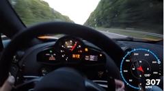 マクラーレン 720S vs 675LT アウトバーン300km/hオーバー走行動画