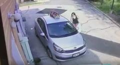 油断禁物 宅配ピザの車を盗む女が現れた!