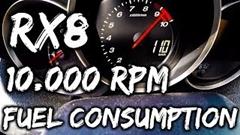 マツダ RX-8はガソリン10リットルで何キロ走れるのか試してみた