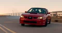 スバル インプレッサが超絶テクでカーチェイスしちゃうベイビードライバー予告動画