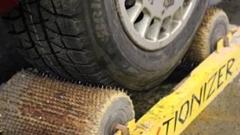 スタッドレスタイヤのグリップ力を大幅に上げる(らしい)トラクショナイザー