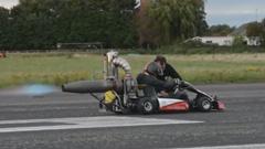 自作ジェットカートが180km/h出しちゃう動画