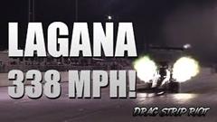 はえー!トップフューエル ドラッグスター ゼロヨン終速544km/h 世界記録動画