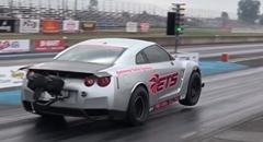 はえー!日産GT-R ゼロヨン6秒888 世界新記録動画