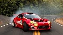 86にフェラーリのエンジンを積んだGT-4586 峠ドリフト動画(クラッシュもあるよ)