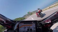 はえー!ヤマハ YZF-R1 高速道路299km/h爆走動画