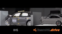 クラッシュシミュレーター BeamNG.drive vs リアルクラッシュ 比較動画