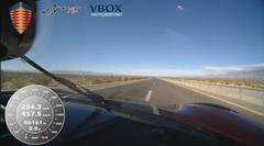 超はえー!ケーニグセグ アゲーラ RS 最高速度457km/h フルオンボード動画