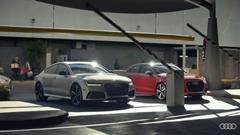 駐車スペースを巡ってアウディ2台が争奪戦を繰り広げちゃう面白CM