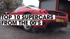 2000年台のスーパーカー トップ10 を選んでみた動画
