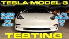 テスラ モデル3 の 0-96km/h、ゼロヨン実測動画
