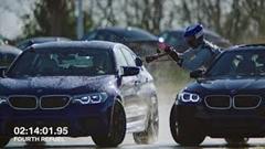 8時間 374km ドリフトしっぱなし!BMW M5 ドリフト最長世界記録動画