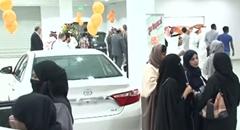 サウジアラビアで女性のためのモーターショーが開催