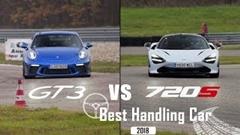 ポルシェ 991 GT3 vs マクラーレン 720S サーキットラップ比較動画