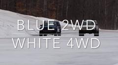 4WD vs 2WD ブレーキが効くのはどっちなのか比較してみた動画