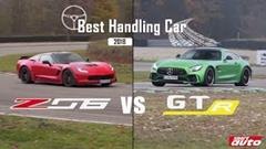シボレー コルベット Z06 vs メルセデス AMG GT R サーキット比較動画