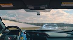 リアル vs バーチャル ホンダ シビック タイプR サーキット対決動画
