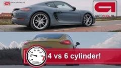 ポルシェ 718 ケイマン vs 981 ケイマンS 新旧加速比較動画