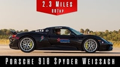 ポルシェ 918 スパイダーは本当に350km/h出るのか実測してみた