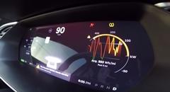 220kg軽量化したテスラ モデルS P100D の0-96km/hを計測してみた