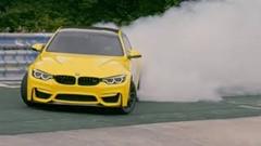 BMW M4 CS が魅せるペンズオイルの超絶ドリフト動画
