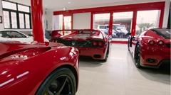 レア物フェラーリが並ぶスーパーカーショップ三浦商事のコレクションを垣間見る動画