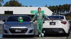 トヨタ 86GR vs スバル BRZ STI Sport サーキット比較動画