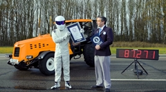 トップギア 世界最速トラクター140km/hギネス世界記録動画
