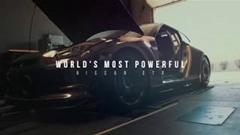 2842馬力!世界一パワフルな日産 GT-R