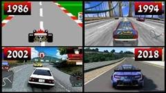セガのレースゲームの進化がわかる動画
