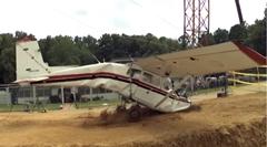 NASAの航空機用ダミー人形クラッシュテスト動画