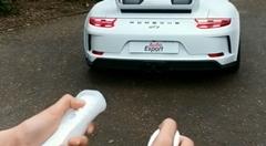 Wiiのコントローラーでポルシェ 991 GT3 を動かしてみた